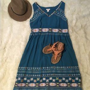 Sundance Embroidered Dress